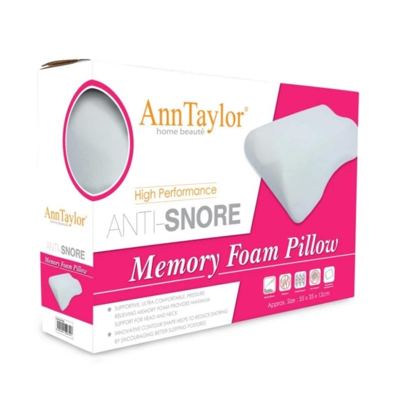 Ann Taylor Anti-Snore Memory Pillow